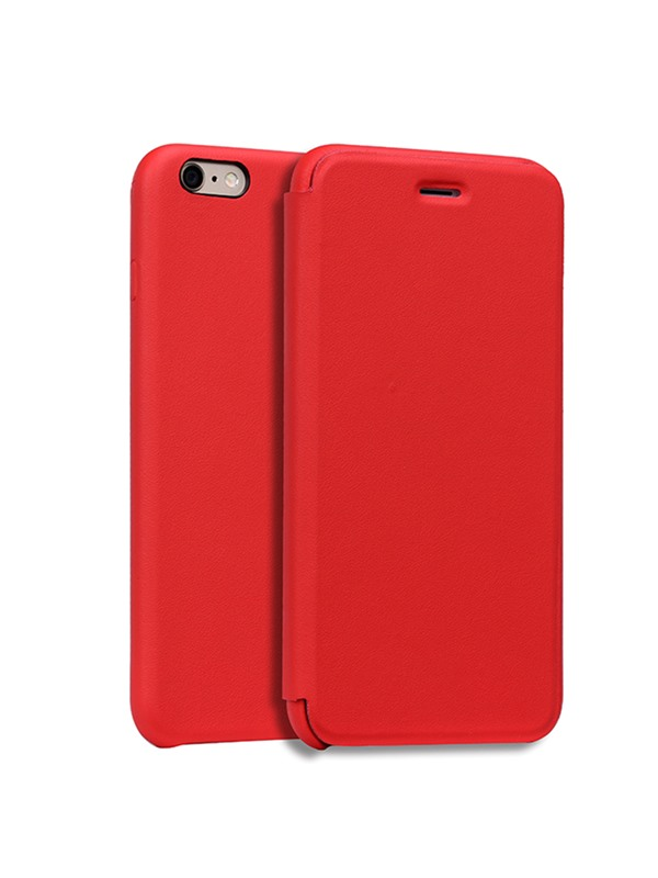 For iPhone 6/6S PlusLeather Fashion Flip Crash Proof Phone Case