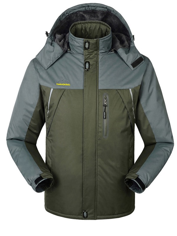 Thermal Fleece Full Zip Windproof Outdoor Jacket