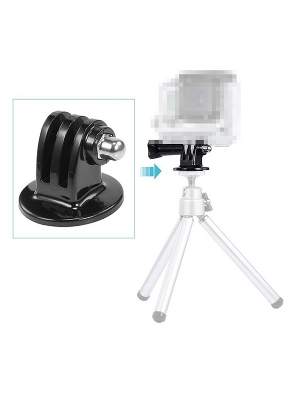Alloy Gopro Mount Adapter & Tripod Mount Adapter
