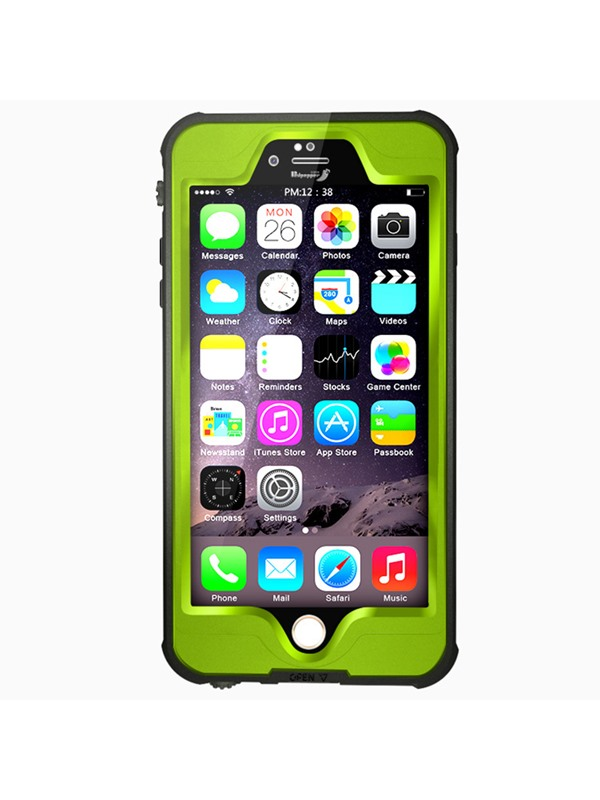For iPhone6/6Plus/6S/6SPlus Shockproof Dustproof Waterproof Case Cover