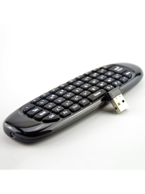 2.4GHz G Mouse C120 Air Mouse Rechargeable Wireless Air Fly Mouse Keyboard for Android TV Box Computer