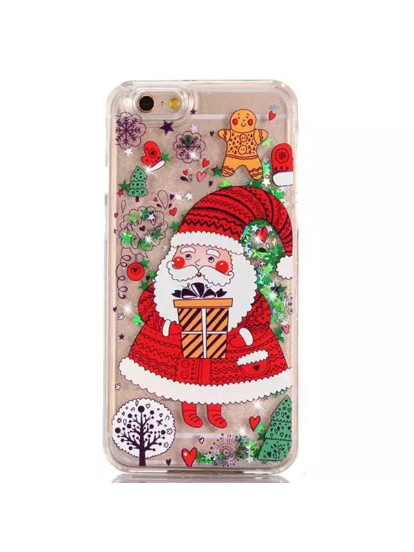 For iPhone6/6s/6plus/6splus/7/7plus Christmas Tree Santa Claus Hard PC Case