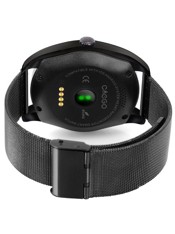 K89 Bluetooth Smart Watch Anti-lost Heart Rate Sleep Monitor for Apple Android Phones