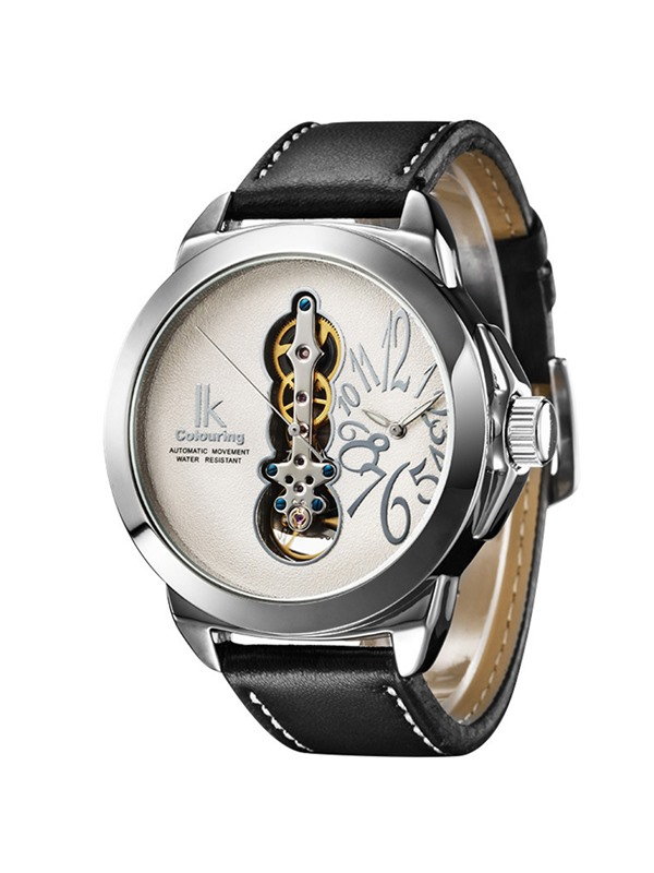 Double Movement Large Dial Men's Mechanical Watch