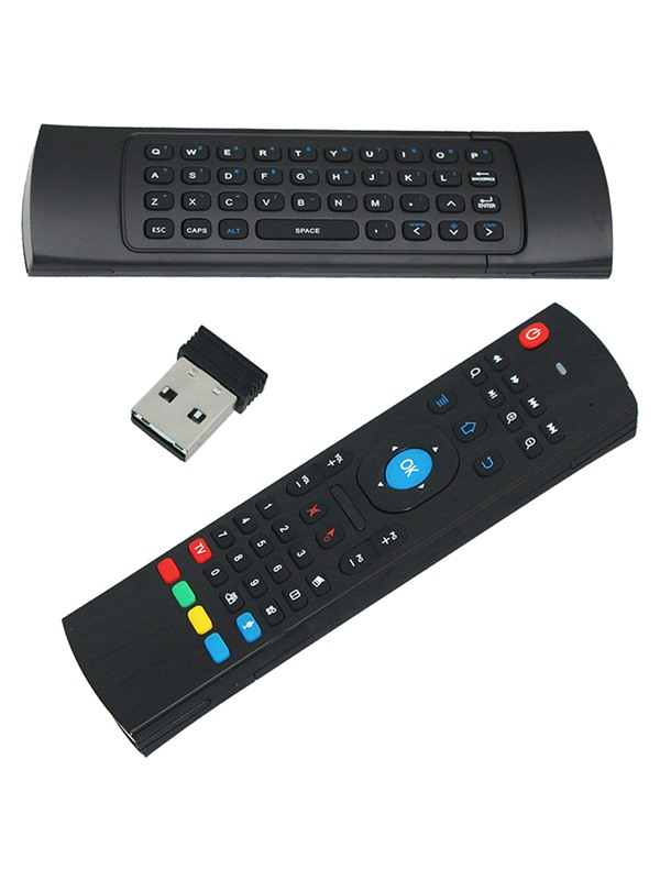 MX3 Portable 2.4G Wireless Remote Control Keyboard Controller Air Mouse for Smart TV Android TV Box