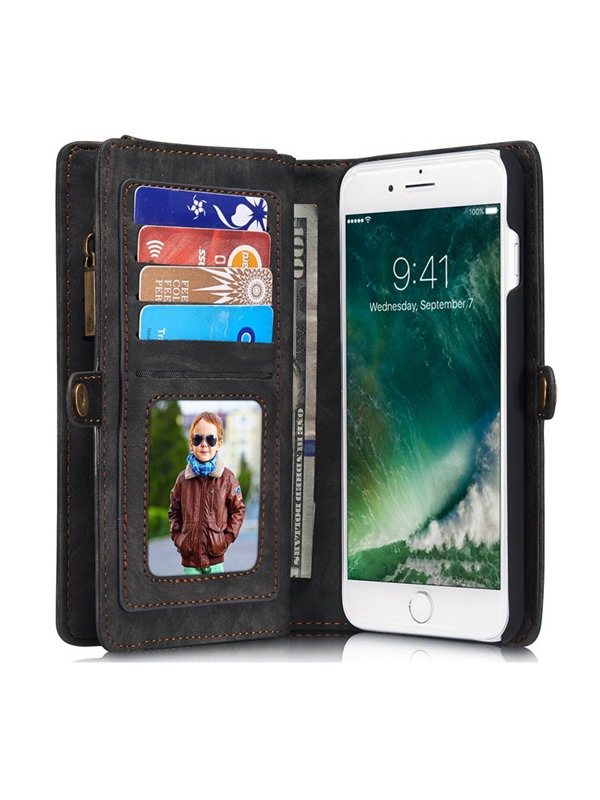 For iPhone 7Plus 6Plus /Samsung Galaxy S7 edge Note7 Flip Leather Stand Wallet Cover Phone Case