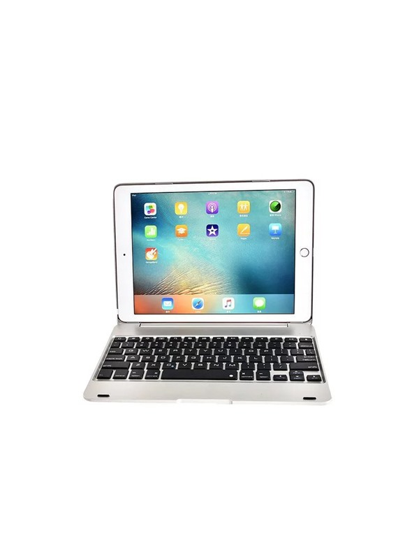 For Apple iPad/iPad Air 2 9.7 inch ABS Plastic Alloy Metel Ultrathin Keyboard Dock Cover Case(Free Shipping)