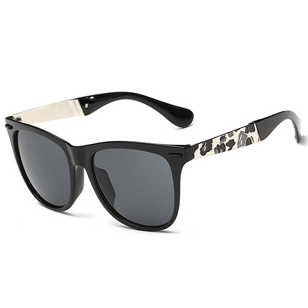Metal Large Frame Unisex Sunglasses