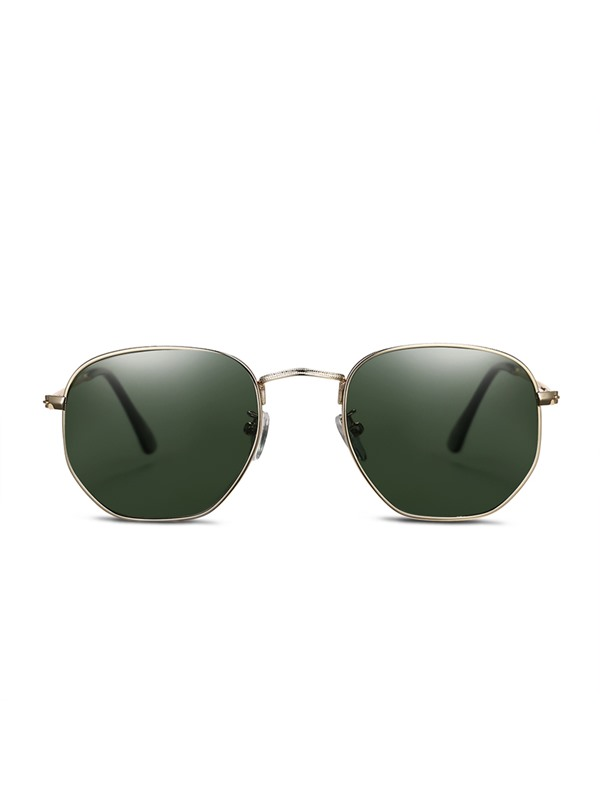 Round Full Frame Polarized Men's Sunglasses