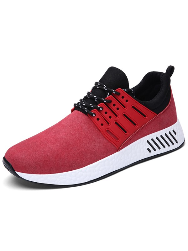 Cloth Patchwork Lace-Up Nice Shoes for Men