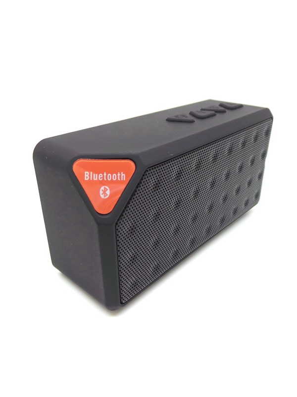 MINI X3 Bluetooth Speaker Bass with Mic Support TF Card