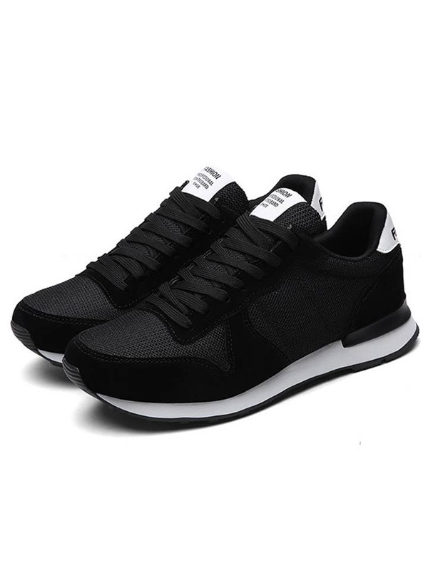 Mesh Color Block Chic Men's Sneakers
