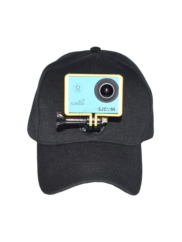 Baseball Cap Hat With Gopro Camera Easy Mount Holder For Hero 5 4 3+