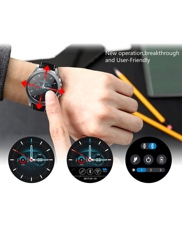 UW23 WiFi Smart Watch 512MB+4GB Heart Rate Monitor Android Smartwatch for Apple Android