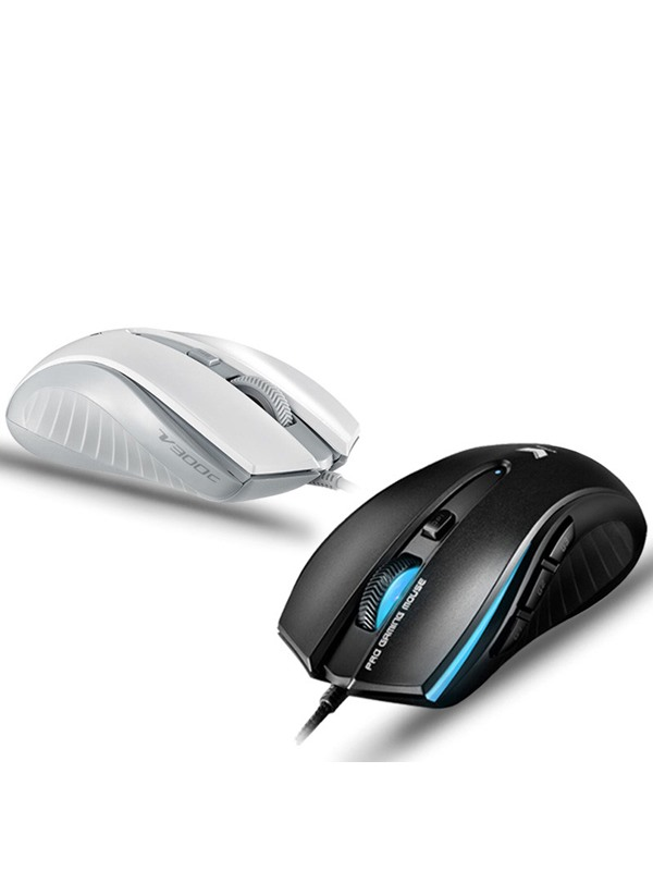 Rapoo V3000 USB Wire-control Gaming Mouse Mice For Pc Laptop