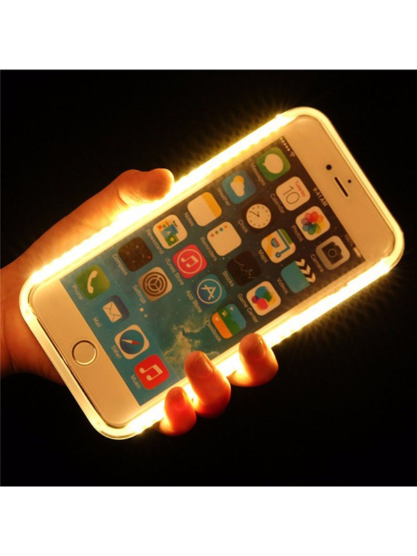 Hot Solid Color with Multifunction Light Charger Case for IPhone 6/6S/6Plus