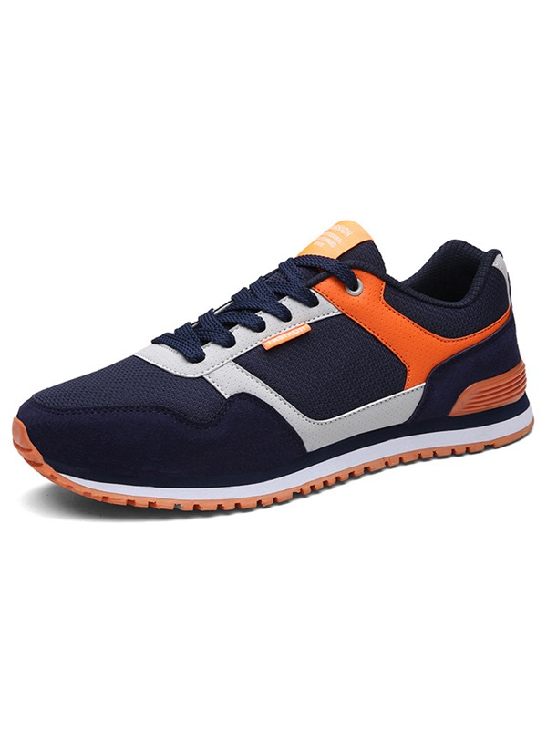 Mesh  Lace-Up Nice Sneakers for Men