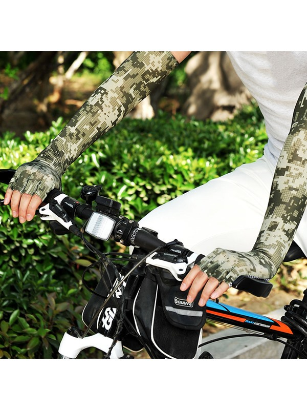 Ice Skin Unisex Protection Cooling Arm Sleeve For Outdoor Sports