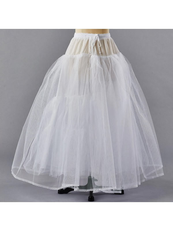Simple A-Line Wedding Petticoats