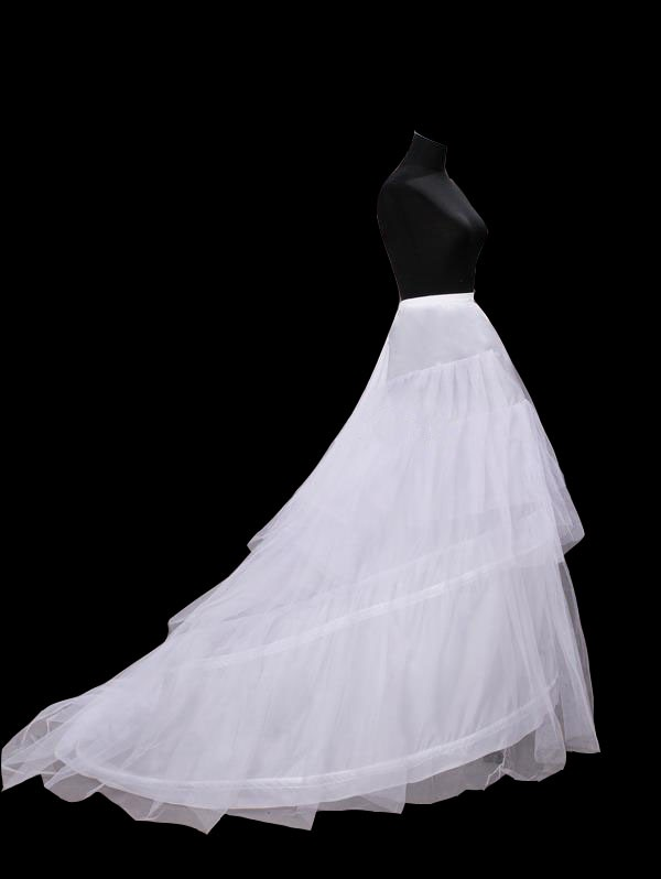 Gauze A-Line Two Steel Wires Wedding Petticoats