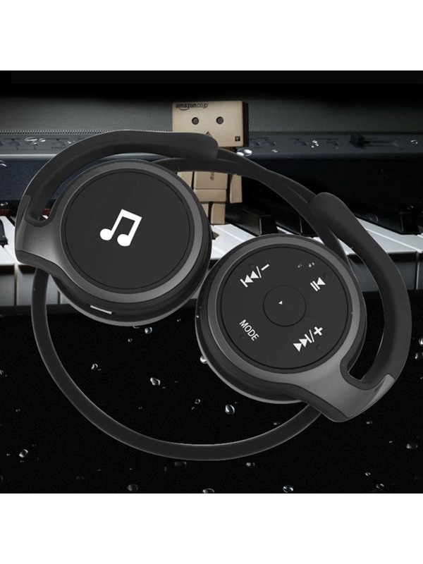 AX698 Sport Running Headphones Noise Cancelling Stereo Support TF Card and FM Radio Headset