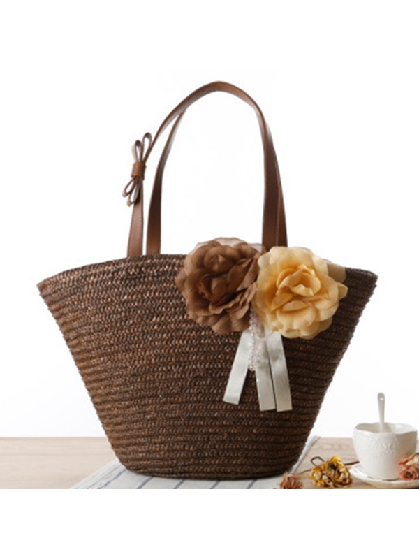 Bohemia Style Women Knitted Fabric Bag