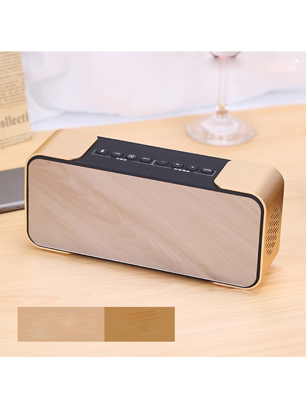 PTH 305 Portable Wireless Bluetooth Speaker HiFi Bass Support Display Time & Alarm Clock Function