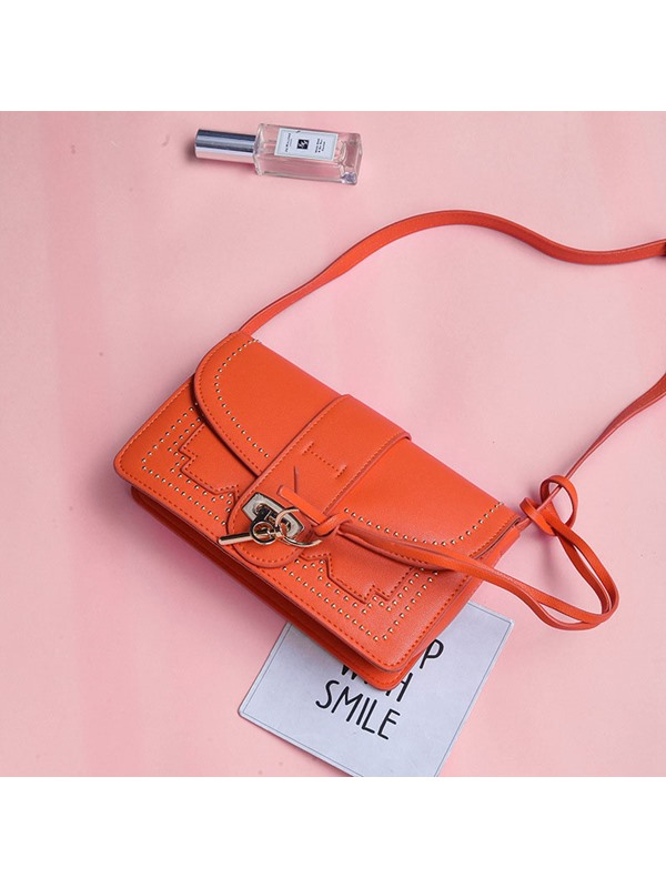 Occident Style Jelly Color Crossbody Bag