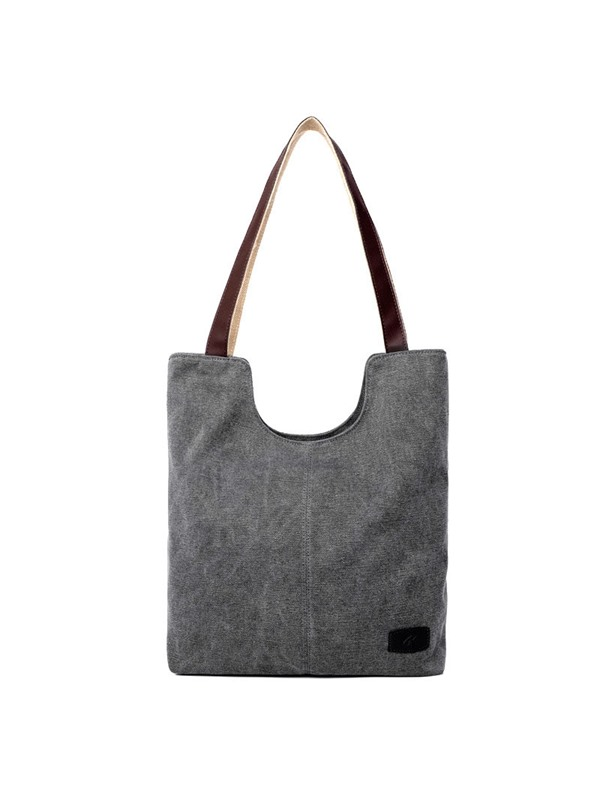 Large-capacity Canvas Shoulder Bag