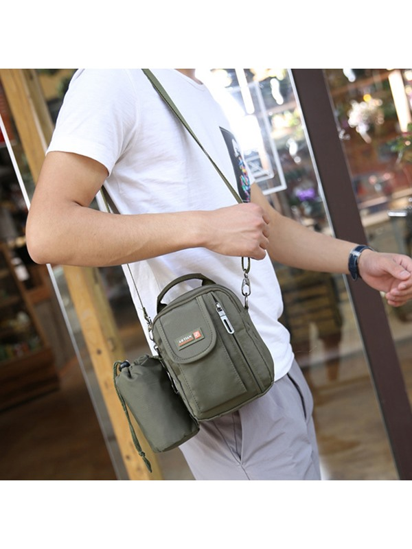 Multipurpose Nylon Men's Bag With Kettle bag