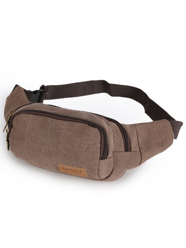 Casual Canvas Men's Waist Pack