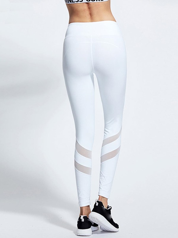 Mesh Patchwork Fast Drying Yoga Sport Pants