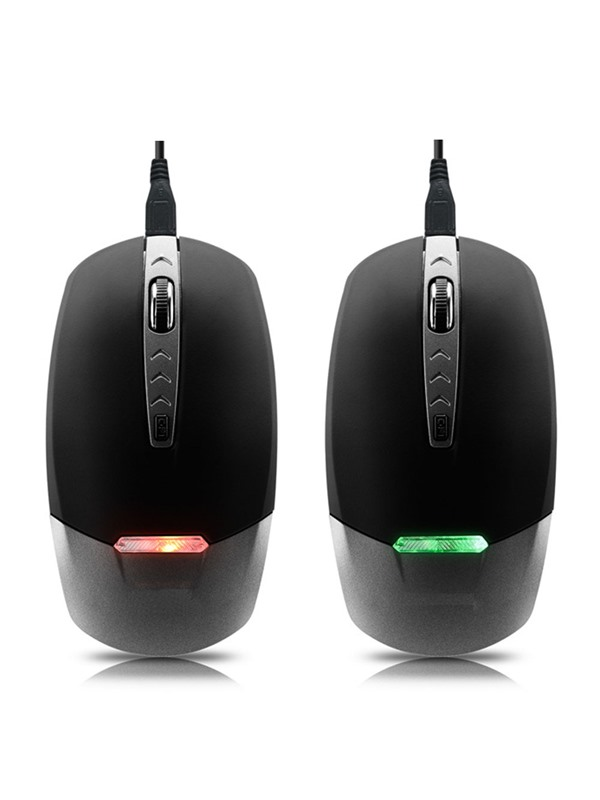 Q801 Wireless Mouse 3 Buttons 2.4GHZ 1600 Dpi 3 Adjustment Levels with Colorful LED Mouse for PC