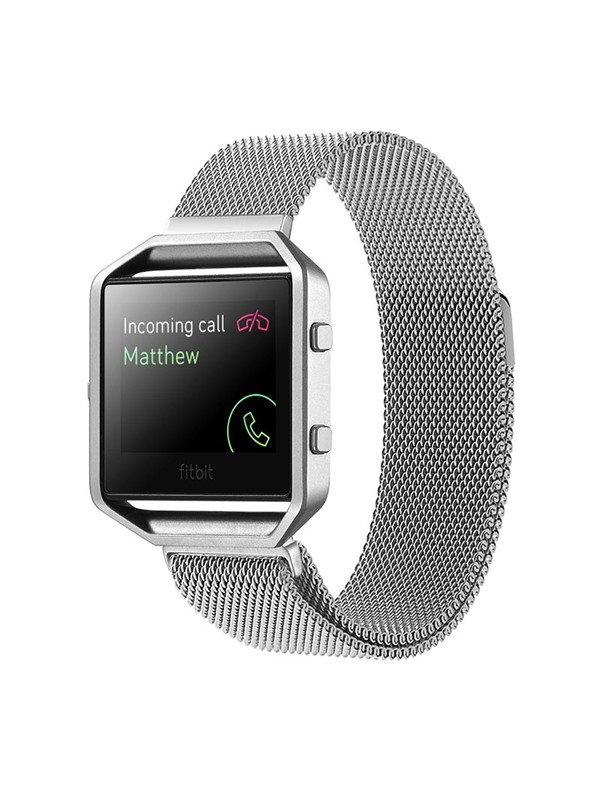 Fitbit Blaze Replacement Band,23mm Stainless Steel Smart Band(Free Shipping)