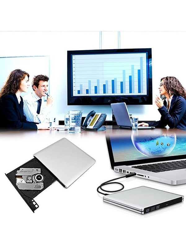 USB3.0 External DVD Drive Burner General Desktop & Notebook External Optical Drive