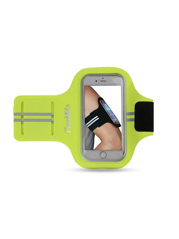Sport Armband Waterproof Running Exercise Gym Fitness Cellphone Sportband Bag with Fingerprint Touch and Key Holder for iPhone 7 7 Plus