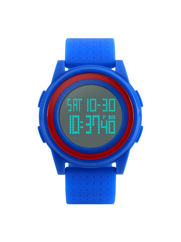 LED Chronograph Calendar 50M Waterproof Resin Simple Digital Watches