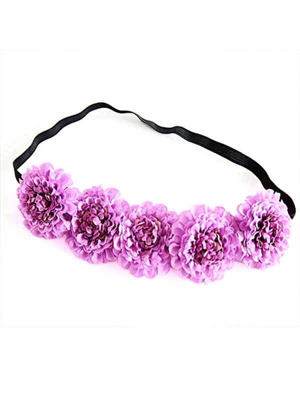 Rose Imitation Cloth Elastic Hairband Tie Hair Accessories