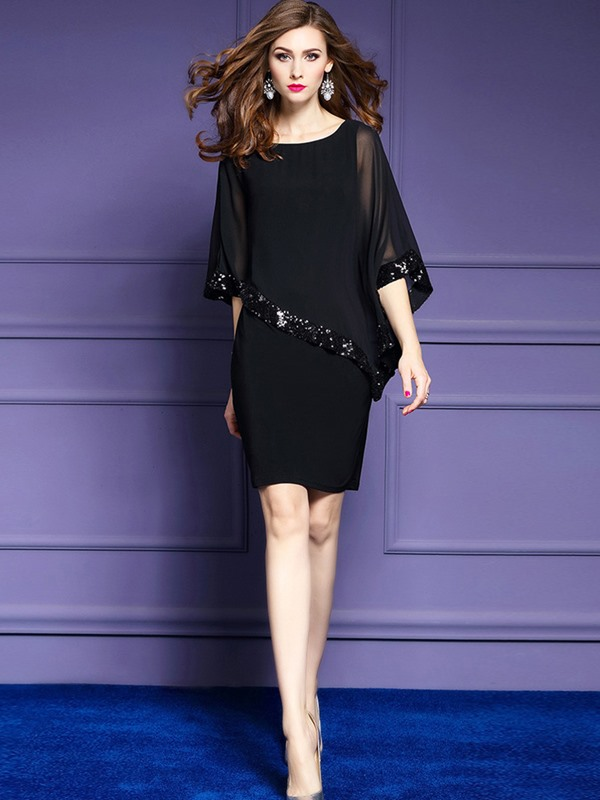 Tidebuy Asymmetric Slim Women's Dress