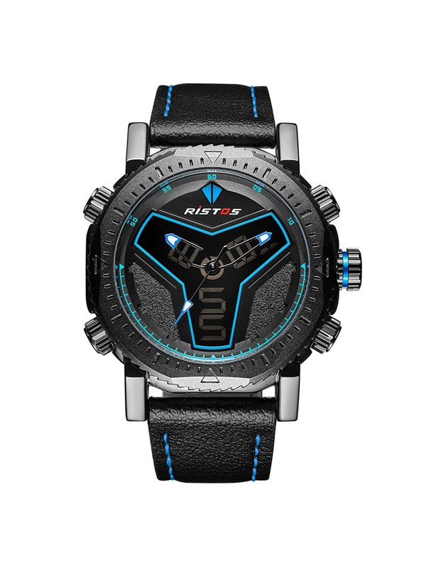 Hardlex Surface Water Resistant Men's Sports Watch