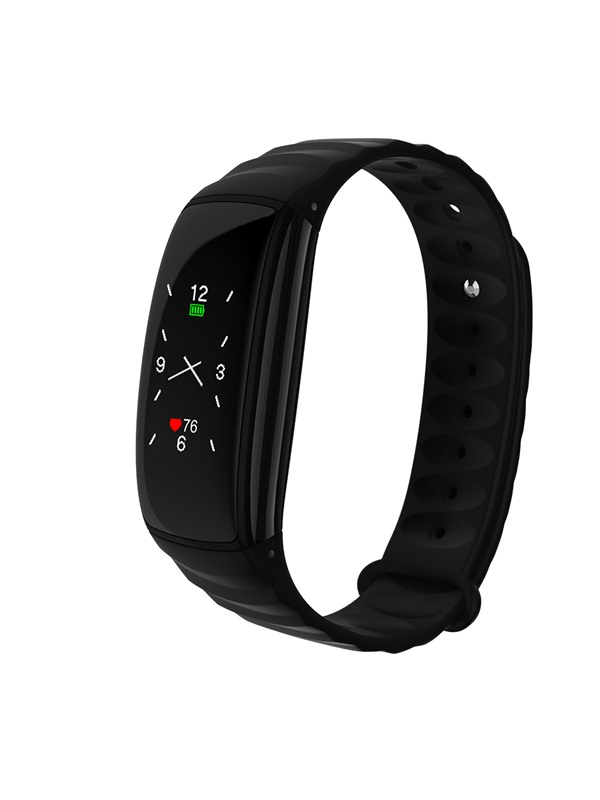 H107 Bluetooth Smart Bracelet 0.96 Inch Color Screen IP67 Heart Rate Monitor Sport Tracker