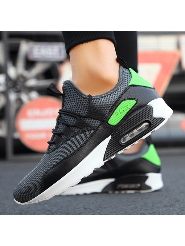Breathable Mesh Patchwork Men's Sneakers