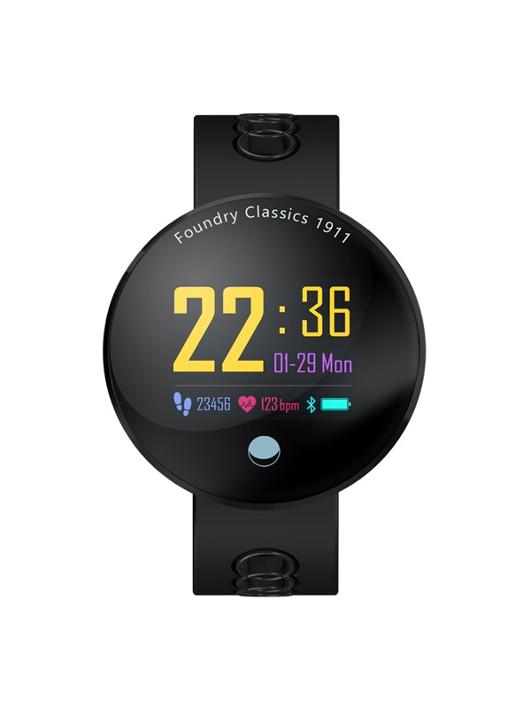 Q8-VO Smart Watch, Blood Pressure Heart Rate Monitor IP68 Waterproof 3 Selectable Standby Interfaces