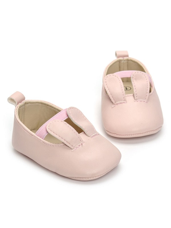 PU Elastic Band Baby's Shoes