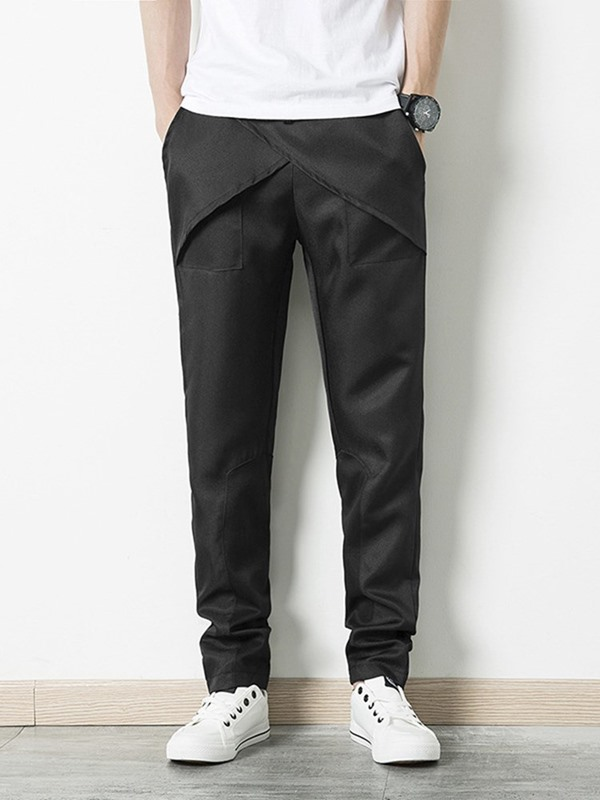 Plain Simple Designed Men's Casual Pants