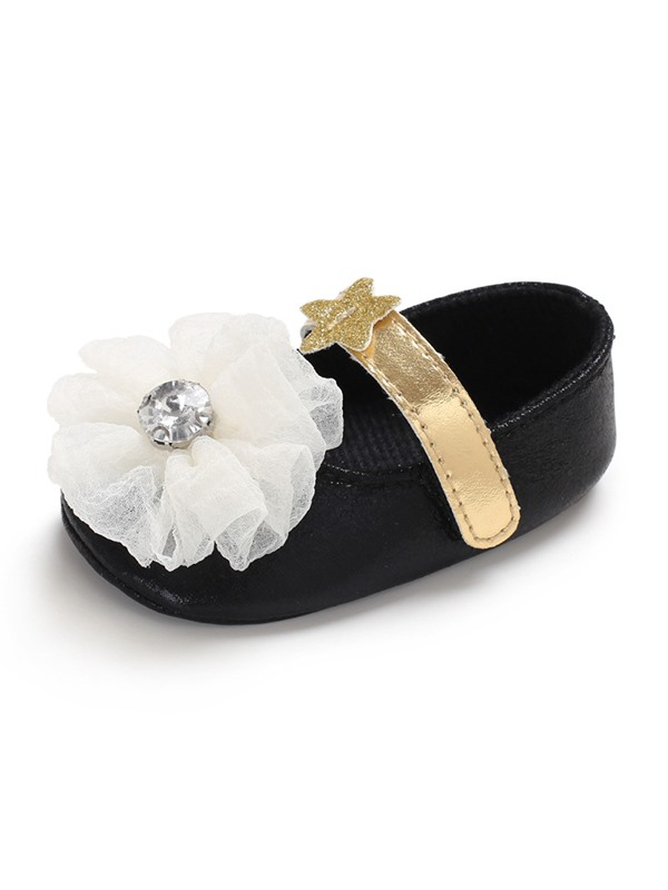 Floral Velcro Toddler Girl Shoes