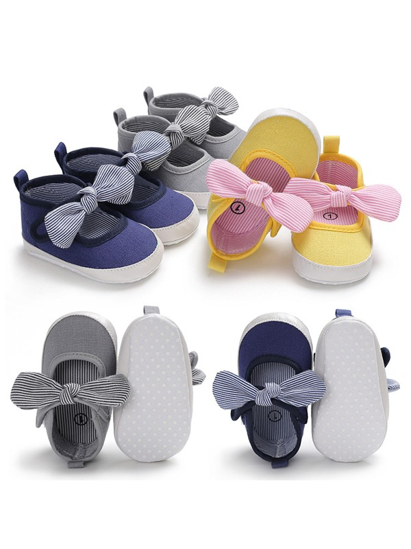 Bowtie Velcro Toddler Shoes