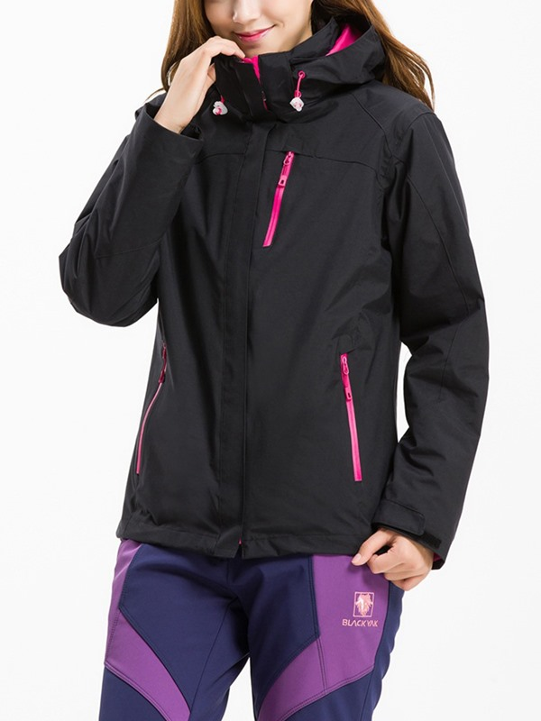 Reflective Night Vision Lightweight Two-Piece Women's Outdoor Jacket