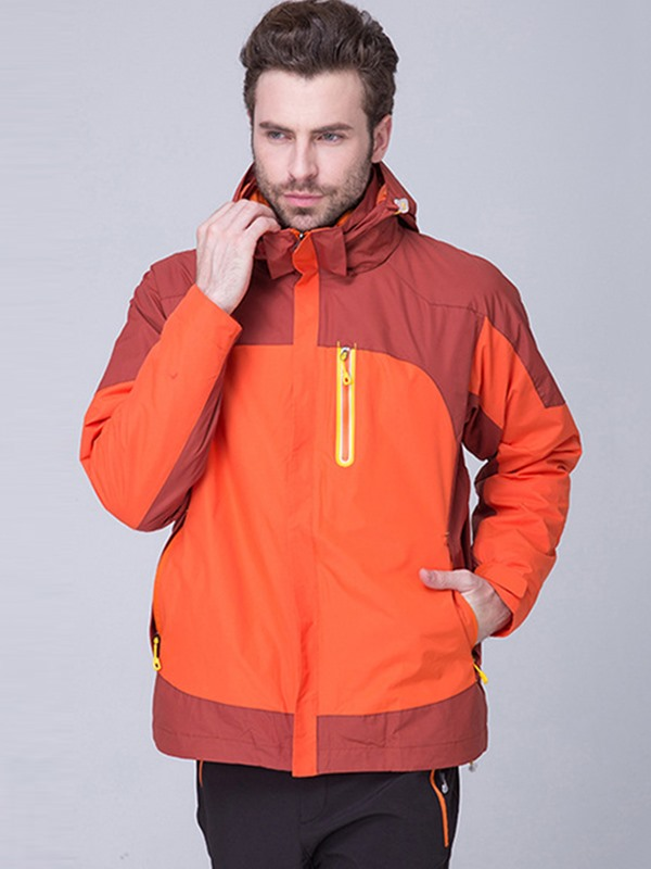 Breathable Thermal Two-Piece Men's Outdoor Jacket