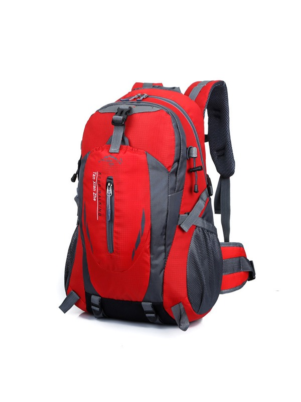 Modern Style Color Block Nylon Travelling Bags